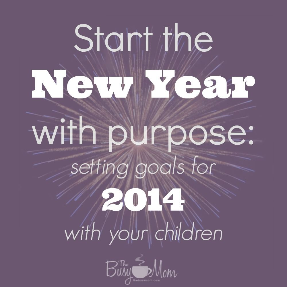 Start the New Year off with purpose Set goals with your