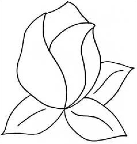 Drawings Of Rose Buds - ClipArt Best | woodworking | Pinterest ... : free printable quilt stencils - Adamdwight.com