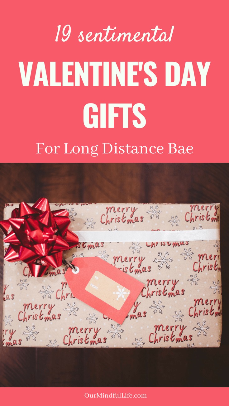 18 Long Distance Relationship Gift Ideas For Valentine S Day Ldr Gifts Boyfriend Gifts Long Distance Relationship Gifts