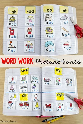 Over 50 word work sorts for the year! No