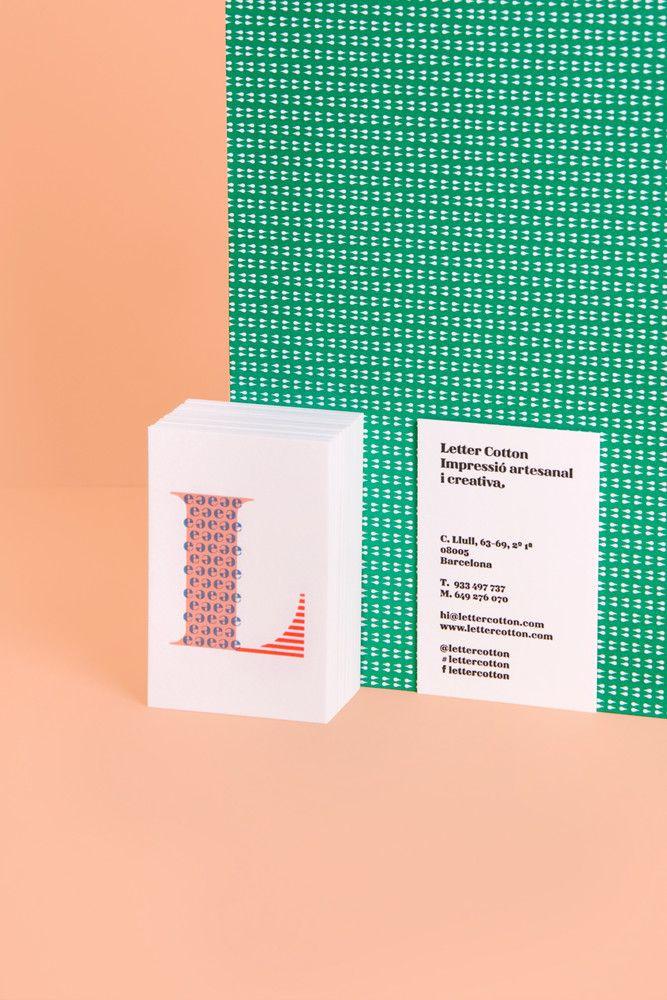 Business cards Cocolia letter cotton Cocolia