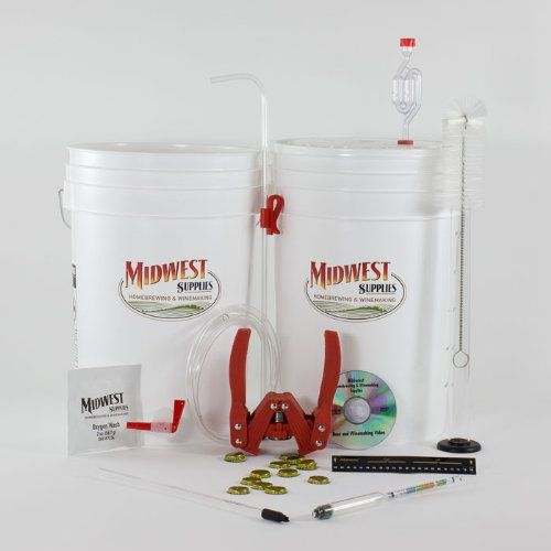 Mr. Beer Premium Gold Edition Home Brewing Craft Beer Making Kit