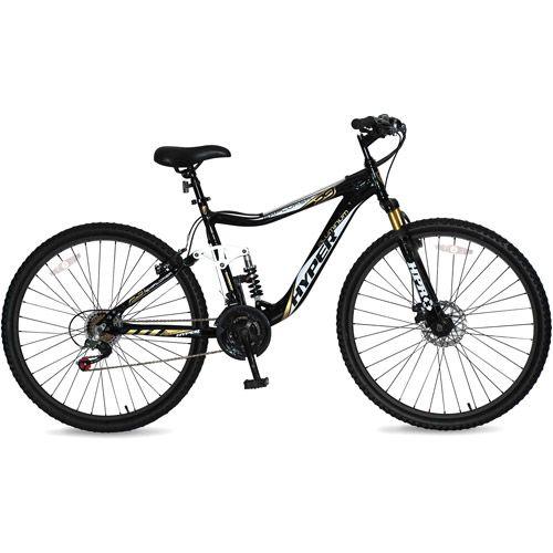 29 Hyper Explorer Men S Mountain Bike With Full Suspension Black 680674009044 Mens Mountain Bike Man Bike Bike