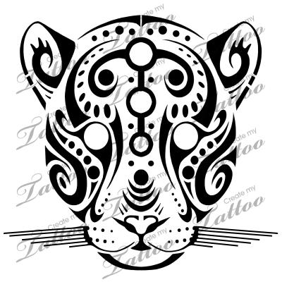 Marketplace Tattoo Tribal Jaguar #14846   CreateMyTattoo.com ...