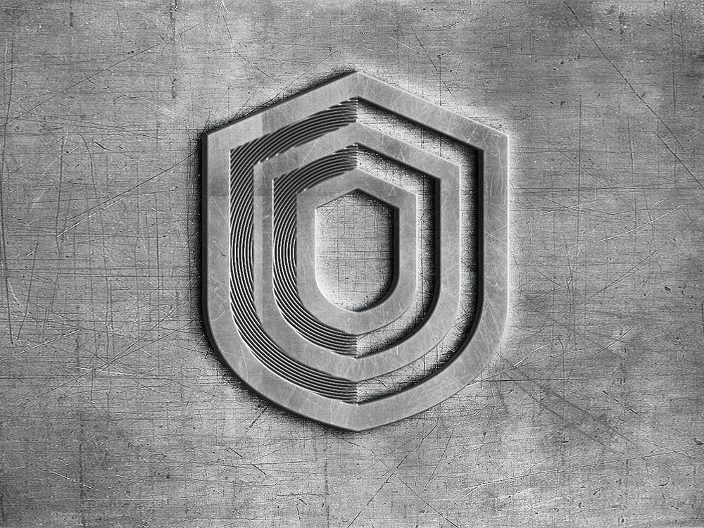 Dns Gard Software Logo Branding Corporate Identity