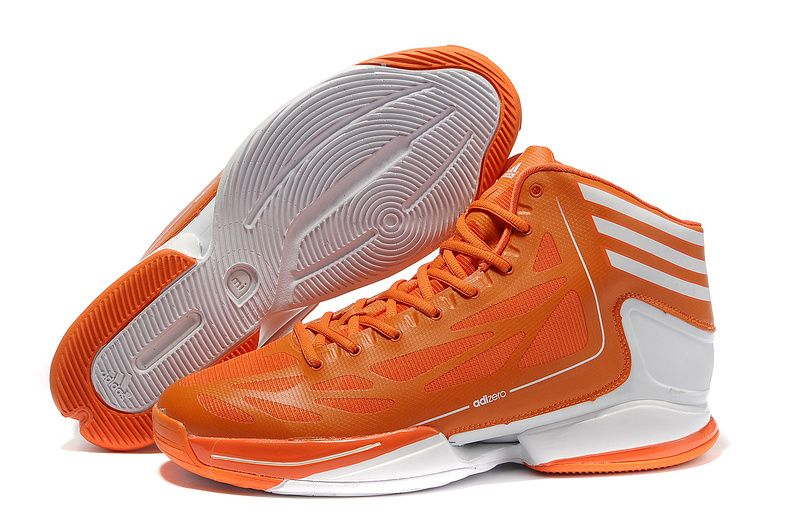 Adidas Adizero Crazy Light 2 Vivid Orange White G56411 [Adidas Basketball  Shoes 022] -