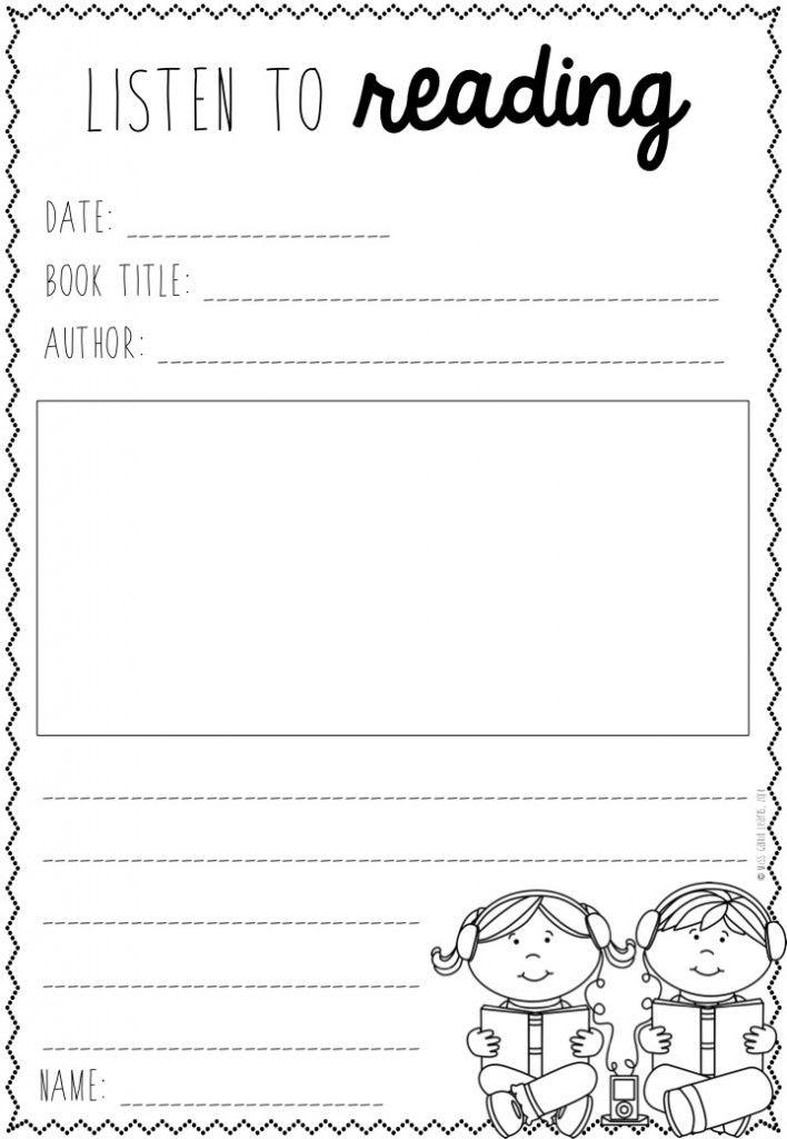 Printable Worksheets racism worksheets : Free Listening Post Worksheet   KindergartenKlub.com   Pinterest ...
