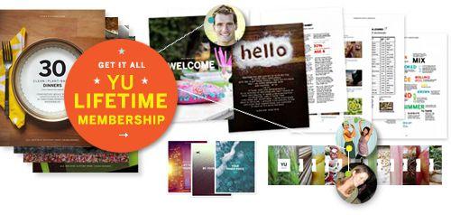 Such a fabulous graphic. YU Lifetime Membership