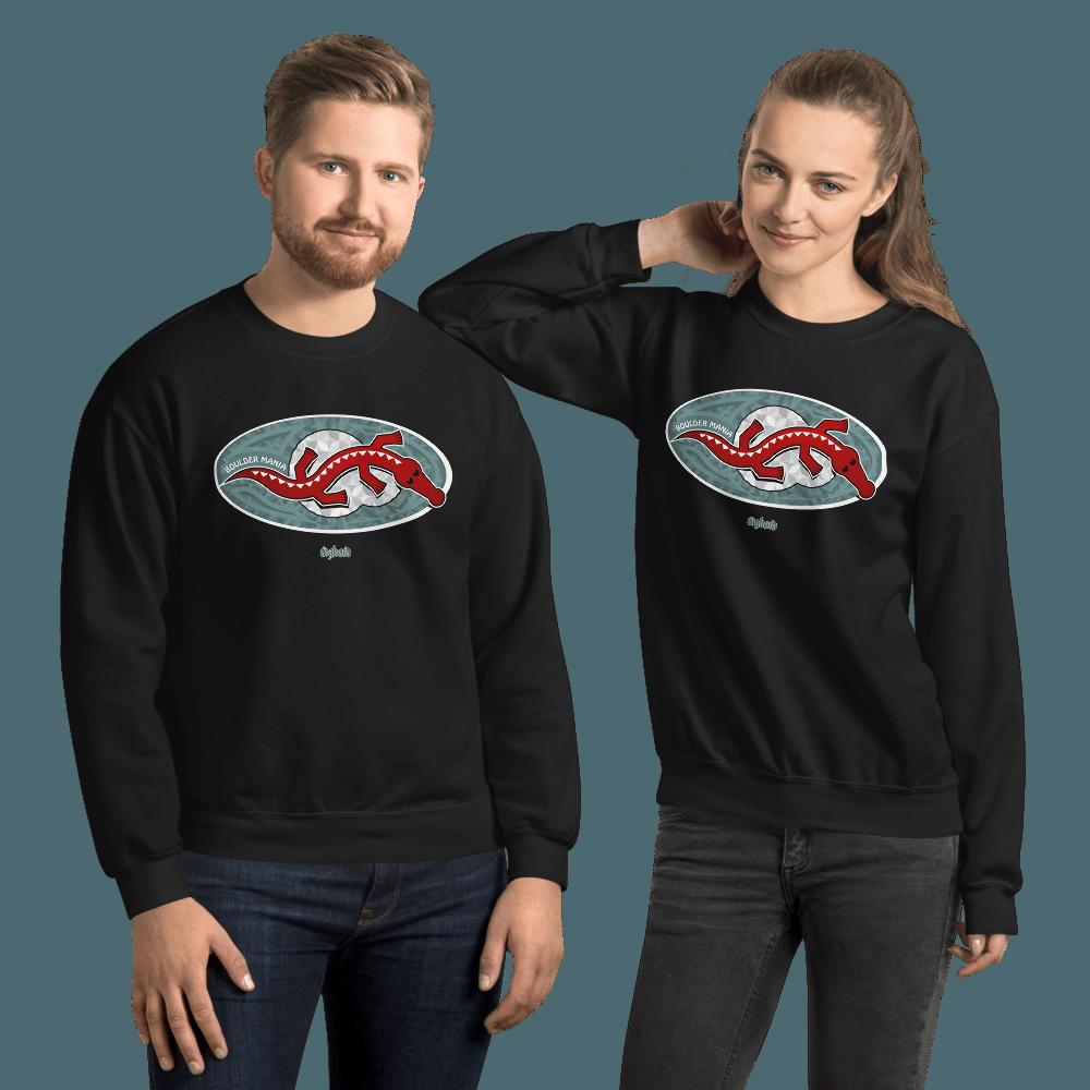 Boulder Mania | Unisex Sweatshirt - Black / S