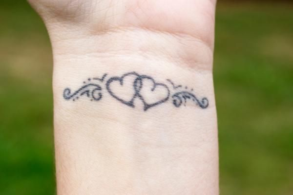 Feminine Tattoo Photo Gallery Lovetoknow Inner Wrist Tattoos Heart Tattoo Wrist Believe Wrist Tattoo