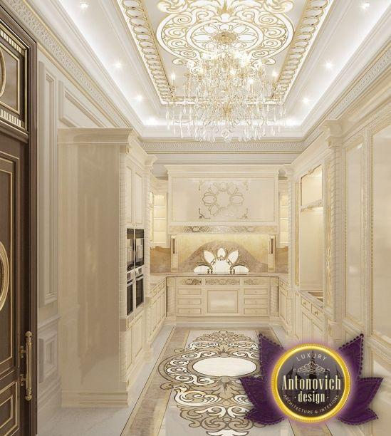 Villa interior design in dubai saudi arabia madina for Classic villa interior design