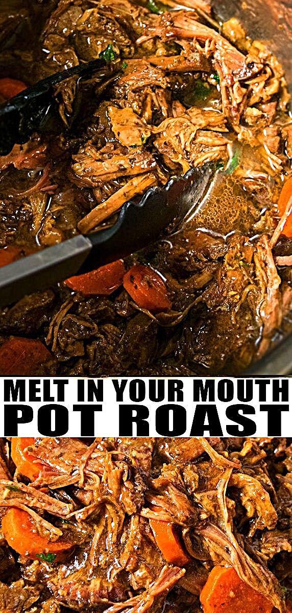 Easy Instant Pot Pot Roast Recipe