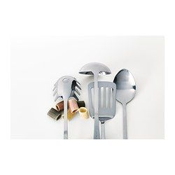 GRUNKA 4 Piece Kitchen Utensil Set, Stainless Steel
