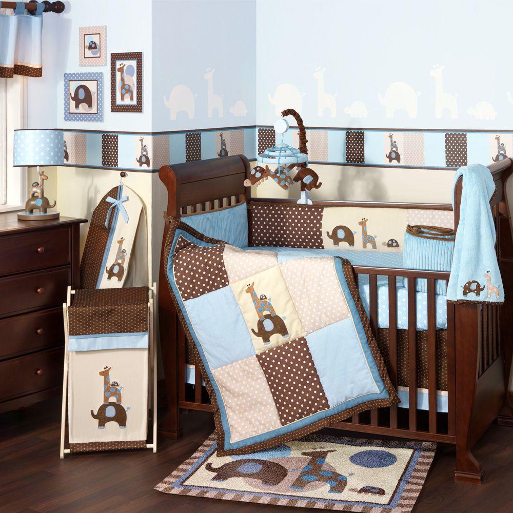 Baby Boy Crib Bedding Set By Lambs Ivy Nursery Giraffe