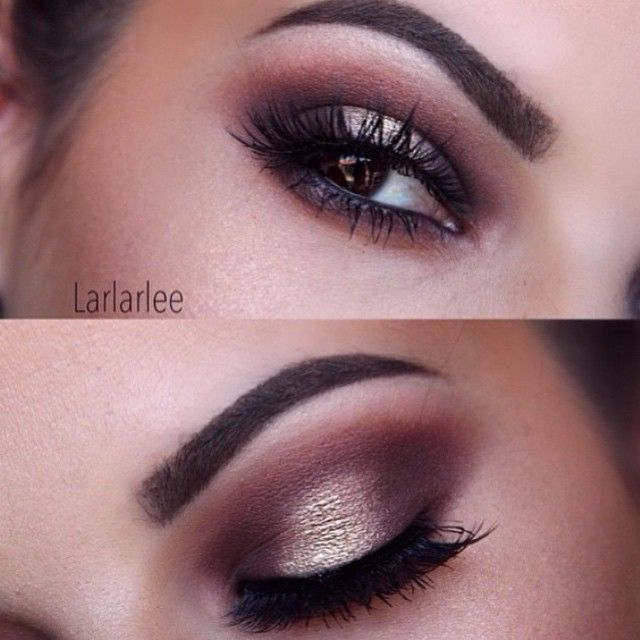 Late night glamour by @larlarlee featuring our lashes in #iconic Makeup breakdown @anastasiabeverlyhills #Dipbrow in dark brown @colourpopcosmetics get lucky, and hustle @houseoflashes in iconic #houseoflashes #larlarlee #colourpop #wakeupandmakeup #glittereyes #shimmereyes #browneyes #lashesfordays