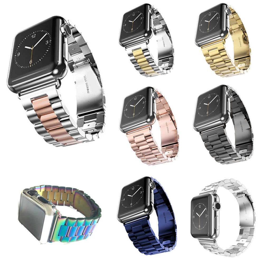 13 14 Hyn Stainless Steel Strap Watch Band For Apple Watch Series 3 Apple Watch 2 1 Ebay Fashion