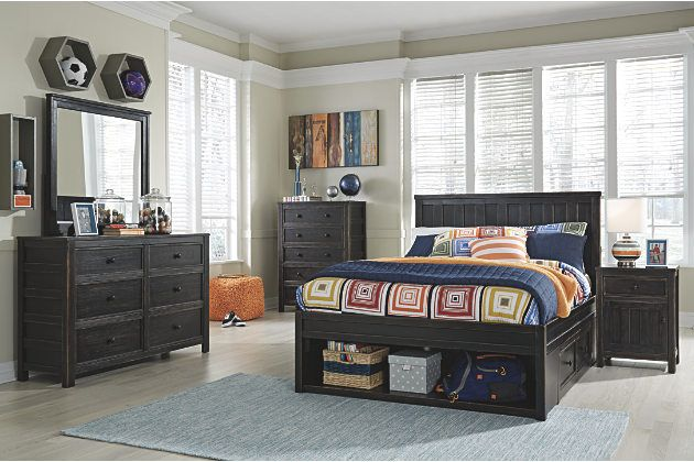 vertical slat headboard for the full size platform bed with under