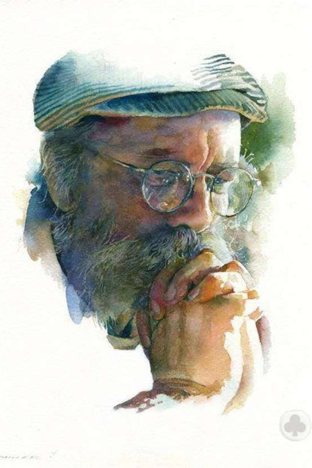 Stan Miller Artist Watercolor Portrait Peinture Portraits