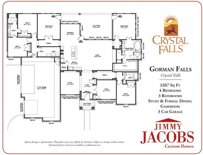 Model details jimmy jacobs custom homes while i 39 m Custom home plans texas