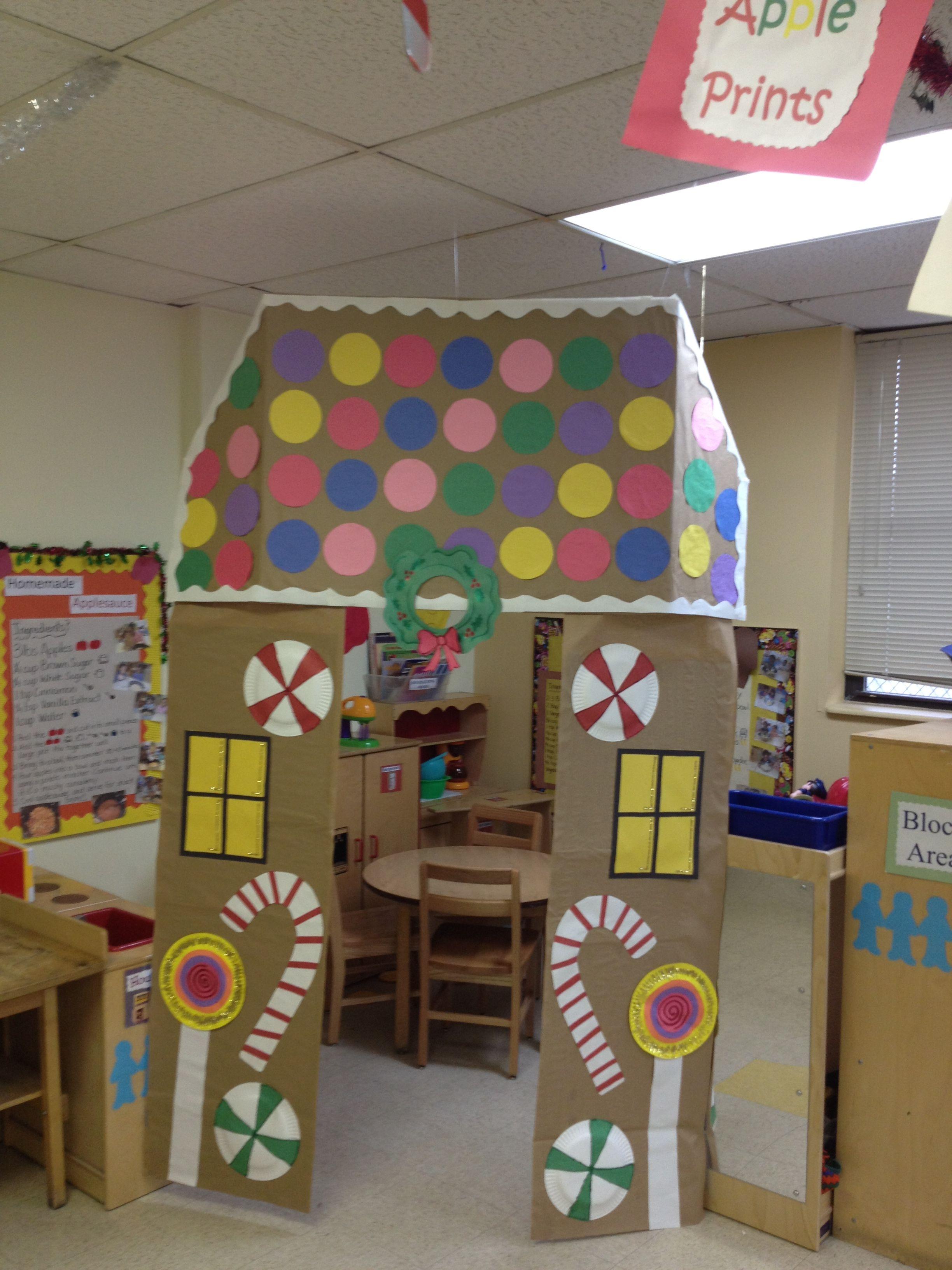 Gingerbread House In My Classroom Pre K Upk