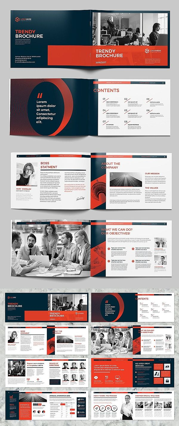 Trendy A5 Landscape Brochure Brochure Design Layout Booklet Layout Business Brochure Design