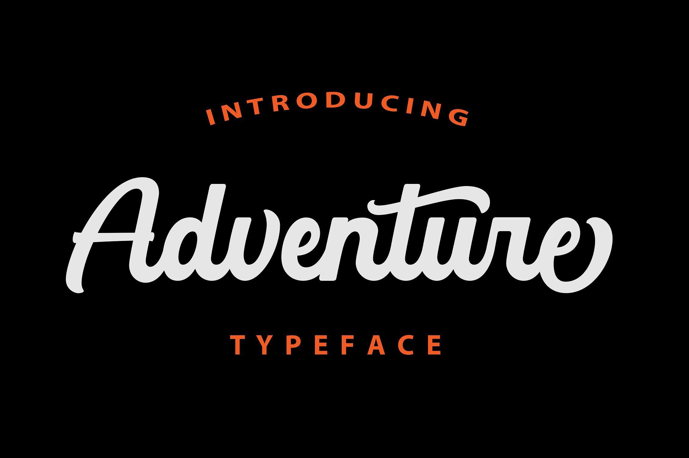 Adventure Adventure Fonts Lettering Adventure