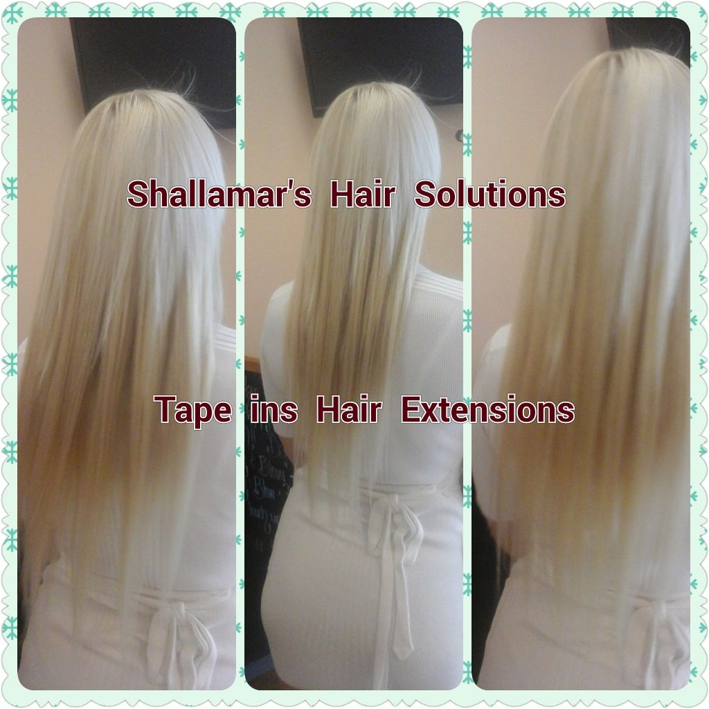 Tape In Hair Extensions Are Getting Very Popular Hair Extensions