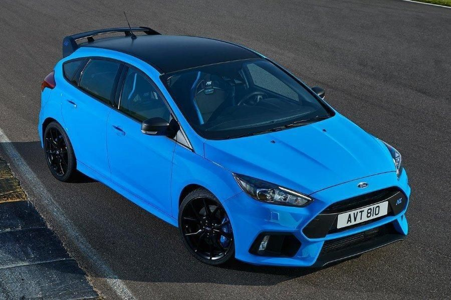 Ford Focus Rs Edition 2 3 Awd 2017 Nitrous Blue With Recaro