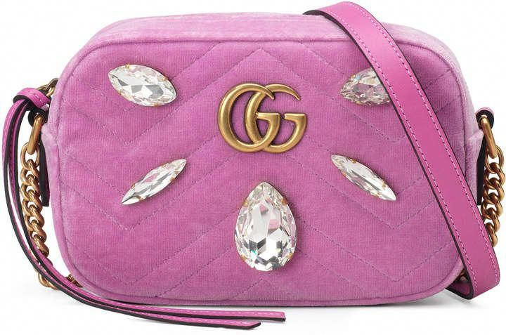 6854661c44844d GG Marmont mini bag $,390 #bags #minibag #shoulderbag #crossbodybag ...