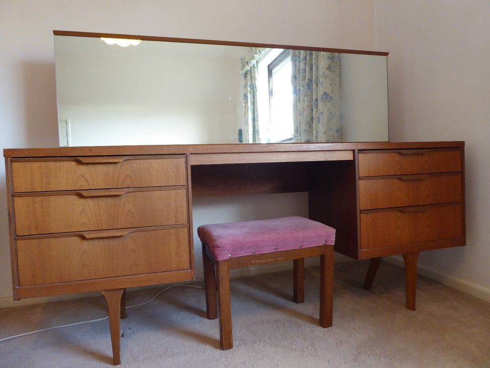 the best attitude cddc9 723a0 Vintage/retro teak Austinsuite dressing table with mirror in ...
