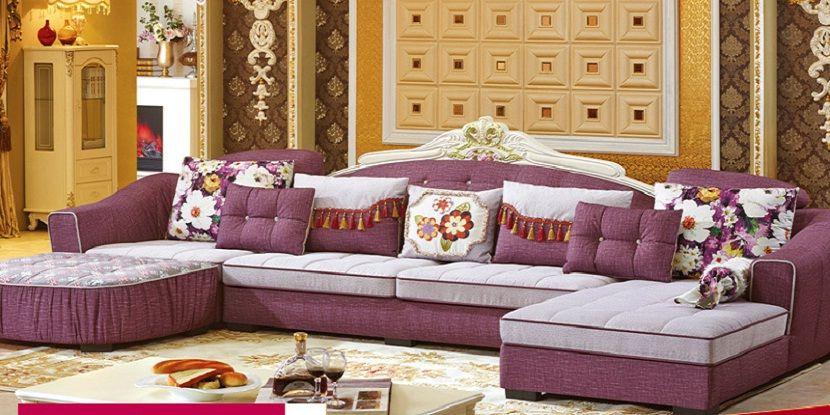 Funky Fabric Corner Sofa