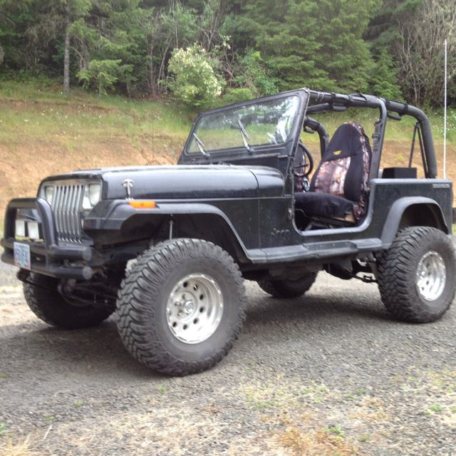 My 1989 Jeep Wrangler Laredo 3 5 Lift 33 Tires 4 0 Liter