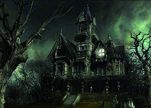 Haunted House wall art is beautiful trendy and fantastic for fall