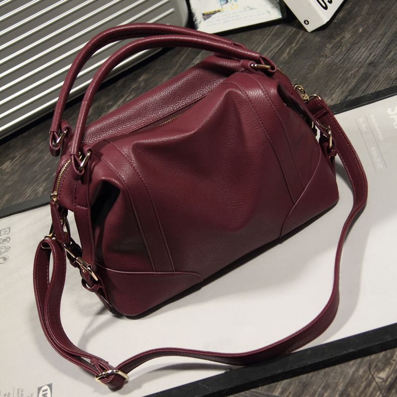Hot Sale 2017 New Fashion Girl Bags Soft Leather Handbags Big ...