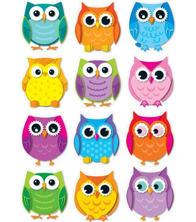 Совки Owl распечатка милашки Bs Print Outs Hibou
