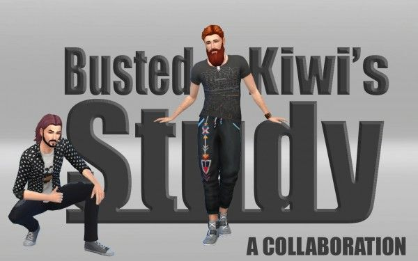 Kiwi Sims 4: Busted Study • Sims 4 Downloads  Check more at http://sims4downloads.net/kiwi-sims-4-busted-study/