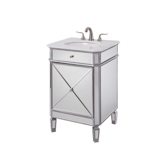 jiya 24 single bathroom vanity set bath single bathroom vanity rh pinterest com