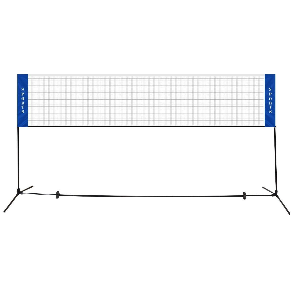 This Durable Badminton Net Is Great For Playing Badminton Tennis Volleyball Or Other Over The Net Sports In Backyard G In 2020 Badminton Nets Badminton Carry On Bag