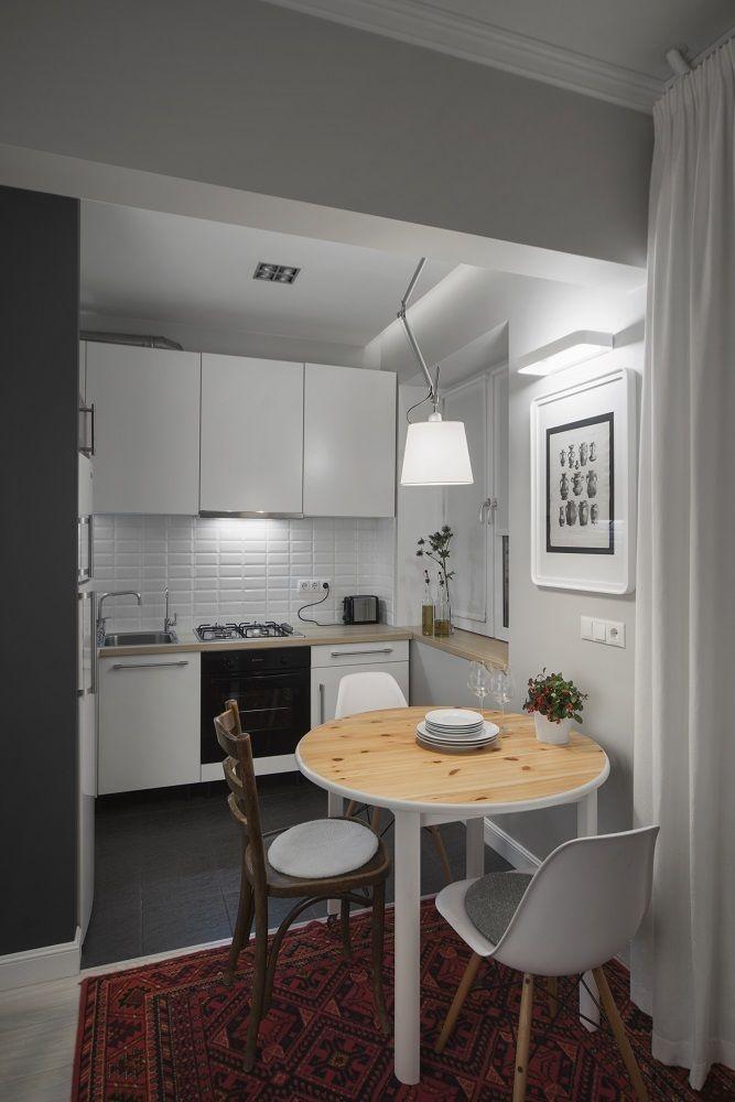 дизайн маленькой кухни в хрущевке реальный пример в москве в 2019 г