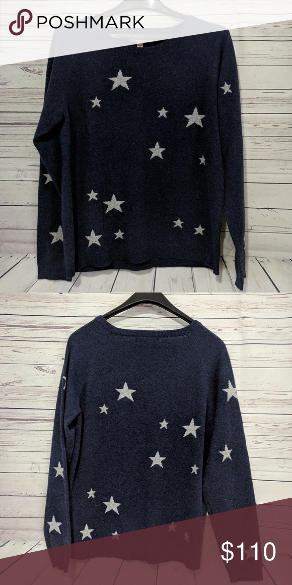 Philosophy 100 Cashmere Star Crew Sweater Sweaters Crew Sweaters Clothes Design