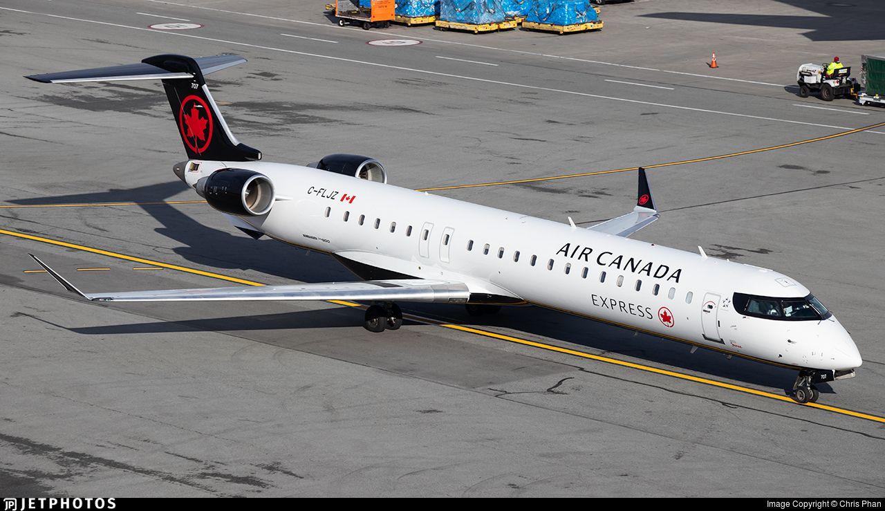 Bombardier CRJ705LR Air Canada Express (Jazz Aviation