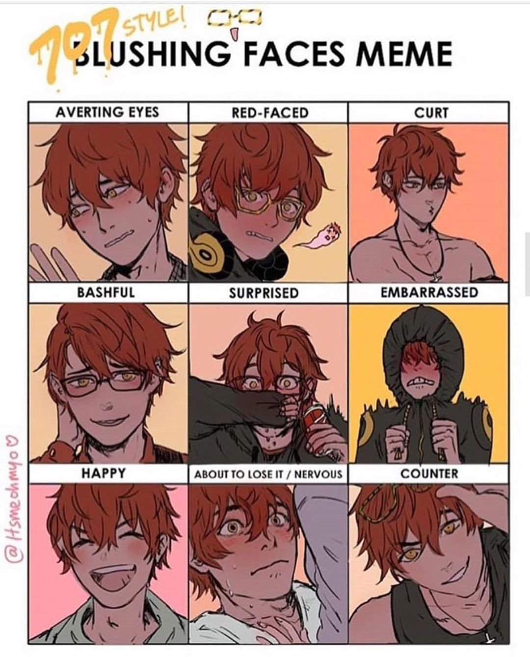 159 Mentions J Aime 2 Commentaires Spooky Zenny Time Mystically Confused Sur Instagr Mystic Messenger Fanart Mystic Messenger Characters Mystic Messenger