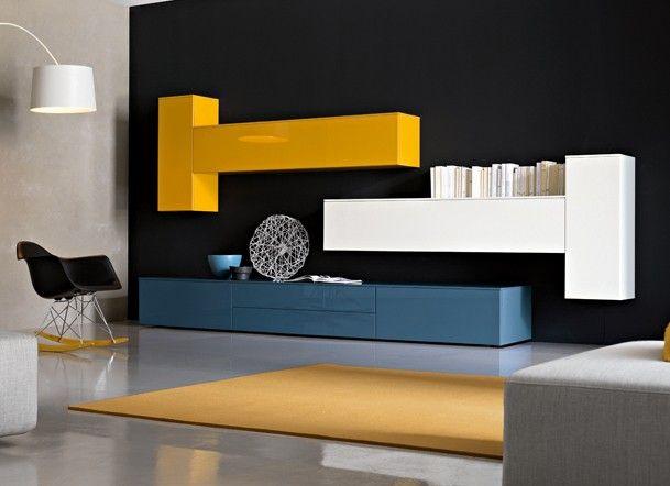 Meubles Fuscielli Nice 06 Sejours Et Salons Contemporains Composition 401 Mobilier De Salon Deco Moderne Architecte Interieur