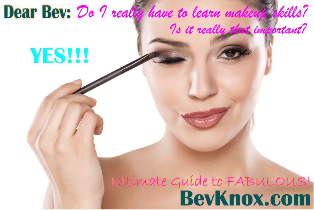 Is Learning Makeup Application Skills Really that Important?  YES YES YES!!!  Learn These Few Quick Tips… http://wp.me/p3E0sU-A2