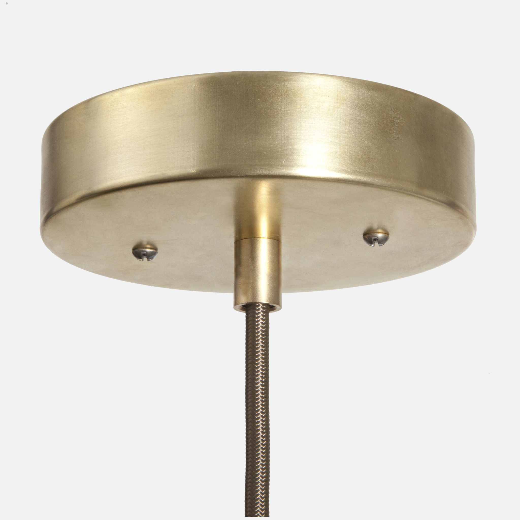 Ceiling Canopy Kit Raw Brass Coupling Chandelier Pendant