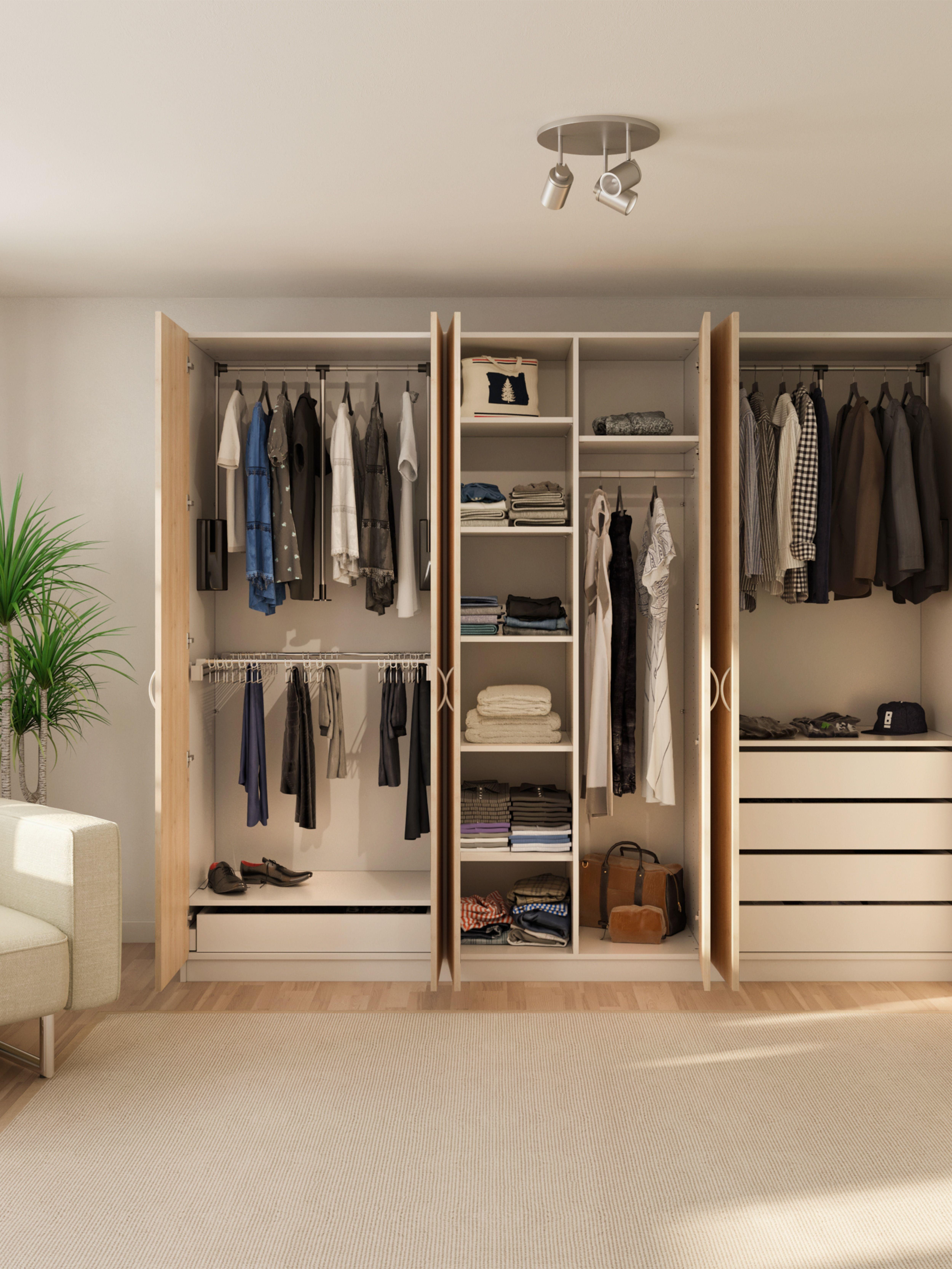 Kleiderschrank mit individueller Ausstattung   Kleiderschrank, Kleiderschrank nach maß, Schrank