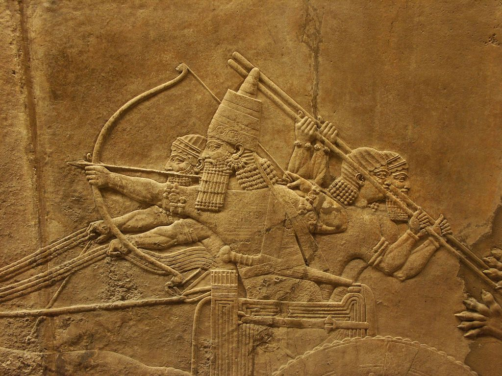 Assyrian Relief - Klaus Wagensonner   MESOPOTAMIA ...