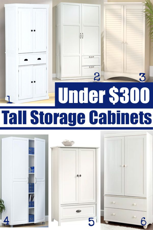 Beau Affordable Storage Cabinets To Buy That Will Hold Craft Supplies, Pantry  Items Or Become A