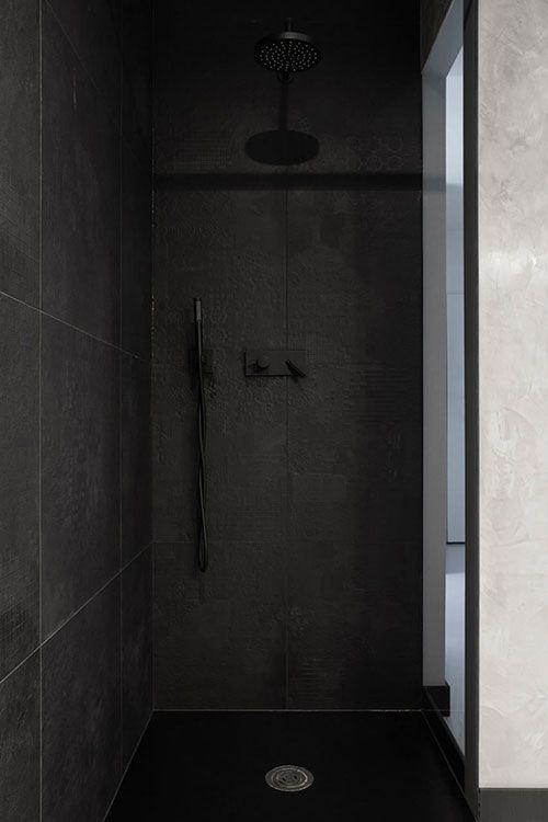 Zwarte witte designbadkamer uit Polen - Bubble | Pinterest - Polen ...