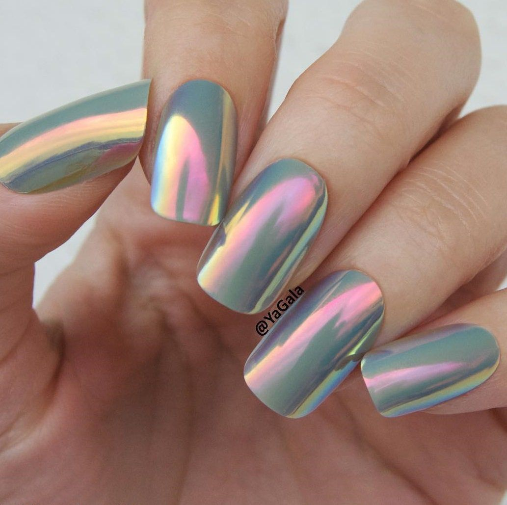 Chrome Nail Art Designs: Discos, Chrome Nail Art And